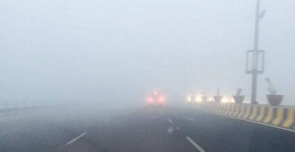 Fog in North India