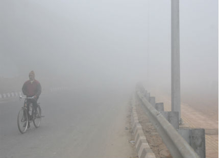 Fog in North India
