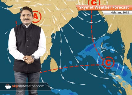 Weather Forecast for Jan 4: Cold wave in Rajasthan, Haryana, mercury drops to 9 degree in UP