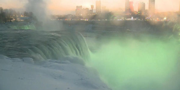 Arctic temperatures could freeze Niagara Falls in January