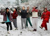 Snow in Jammu Kashmir and Himachal