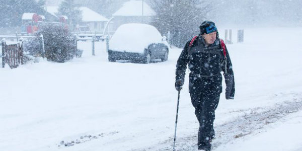 Twin storm effect over UK, snow to cause chaos