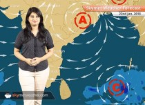Weather Forecast for Jan 22: Rain in Andaman and Nicobar, warm weather in Mumbai, Chennai