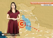 Weather Forecast for Jan 23: Rain in Delhi, Haryana, North Rajasthan, UP, Andaman, Warm day in TN, Kerala