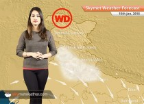 Weather Forecast for Jan 15: Rain in Kashmir, Andaman, Chilly nights in UP, Bihar