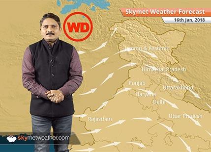 16 जनवरी के लिए मौसम पूर्वानुमान: बिहार, उत्तर प्रदेश में घने कोहरे के बीच शीतलहर, दिल्ली सहित उत्तर में शुष्क मौसम..