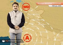 Weather Forecast for Jan 19: Fog in East Uttar Pradesh, Bihar, temperatures to further drop in Gujarat, Rajasthan
