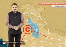 Weather Forecast for Jan 23: Rain and snow in Kashmir, HP, Rain in Uttarakhand, Delhi, UP, Haryana