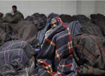 Winter chill in North India
