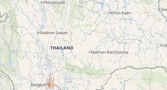 lightning in thailand
