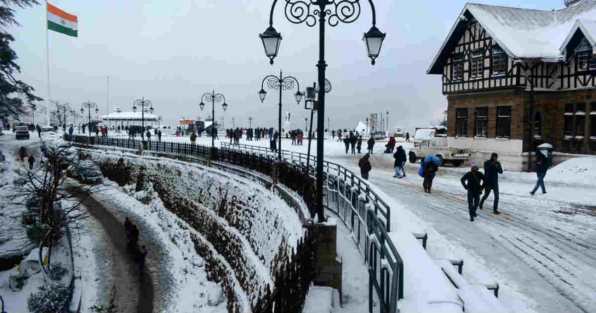 One of the most visited Tourist Destination in North India- Shimla