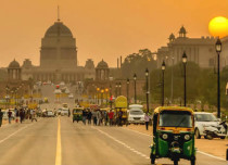 Delhi dry weather