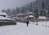 Gulmarg-snowfall