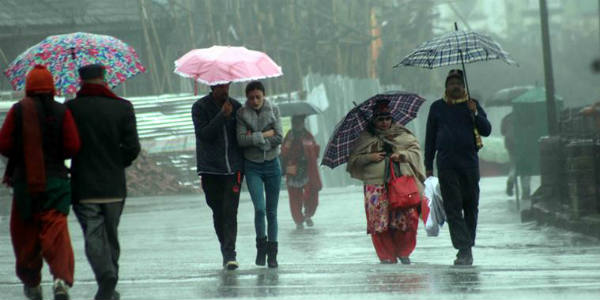 Series of weather systems to cause umbrella weather over North India