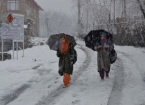 Jammu and kashmir Rain and snow