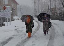 Jammu and kashmir Rain and snow