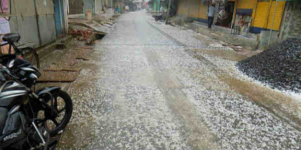 Three killed as rains, hailstorm lash Maharashtra