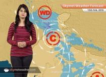 Weather Forecast for Feb 12: Snow in Kashmir, Himachal; Rain in Delhi, Chandigarh, Lucknow, Agra