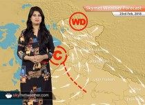 Weather Forecast for Feb 23: Snow in Kashmir, Himachal, Uttarakhand; Rain in Punjab, Rajasthan