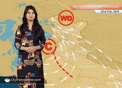 Weather Forecast for Feb 23: Snow in Kashmir, Himachal, Uttarakhand; Rain in Punjab, Rajasthan