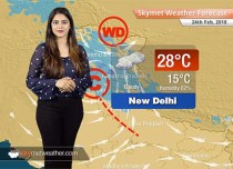 Weather Forecast for Feb 24: Rain in Delhi, Punjab, Haryana, snow in Kashmir, Himachal