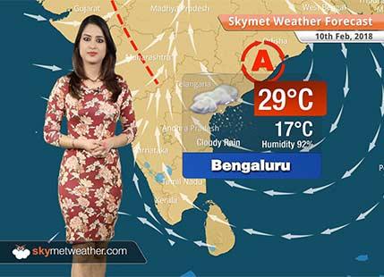 Weather Forecast for Feb 10: Rain, snow in Kashmir, Himachal, Rain in Karnataka, Kerala
