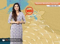 Weather Forecast for Feb 15: Rain and snow over Jammu and Kashmir, Delhi to witness a sunny day