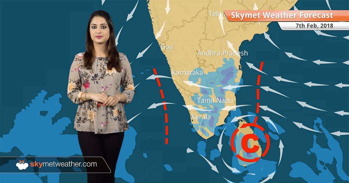 Weather Forecast For Feb 7 Rain In Chennai Bengaluru Tn Kerala