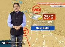 Weather Forecast for Feb 10: Rain and snow in Kashmir, Himachal, Minimums to rise in Northwest India