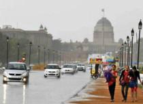 Rain in Delhi on Valentines Day