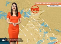 Weather Forecast for Feb 13: Rain, snow in Kashmir, Himachal, Dry weather in Delhi, Lucknow, Bengaluru, Chennai