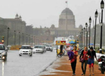 Winter rain in Delhi