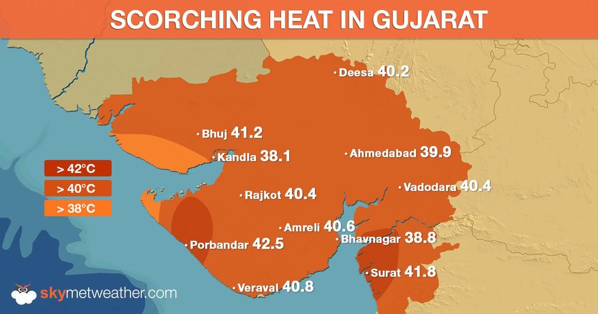 Heatwave In Porbandar Surat Veraval To Continue Skymet