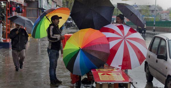 Kashmir rain