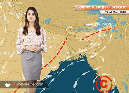 Weather Forecast for Mar 22: Snow in Kashmir, Himachal, rain in Kerala, Tamil Nadu; dry weather in Mumbai, Chennai