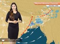 Weather Forecast for Mar 23: Pre Monsoon rain in Kolkata; Delhi, Mumbai mornings to be pleasant