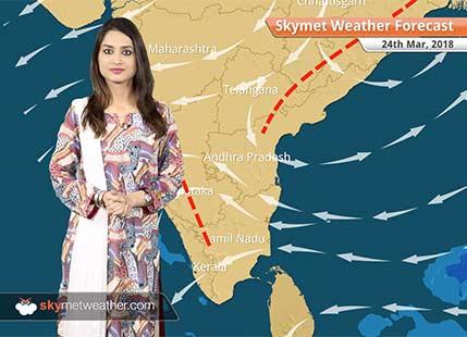 Weather Forecast for Mar 24: Rain in Kerala, Tamil Nadu; dry weather in Mumbai, Delhi
