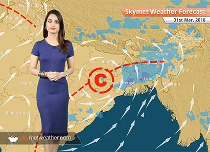 Weather Forecast for Mar 31: Heatwave in Gujarat, Rajasthan; Rain in Bengaluru, Kolkata, Chennai
