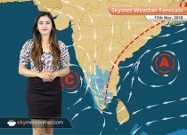 Weather Forecast for Mar 17: Rain in West Bengal, Vidarbha, Marathwada; weather in Delhi to be dry