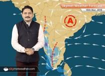Weather Forecast for Mar 18: Rain in Tamil Nadu, Karnataka, Kerala, Nagaland