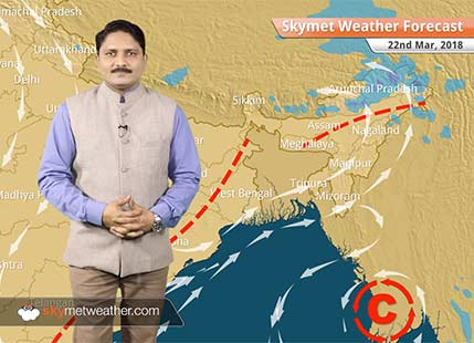 Weather Forecast for Mar 22: Rain and Snow in HP, Uttarakhand; Minimums to drop in Rajasthan, Gujarat, MP