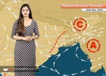 Weather Forecast for Mar 25: Maximums to rise in Delhi, Punjab, Haryana, Rajasthan