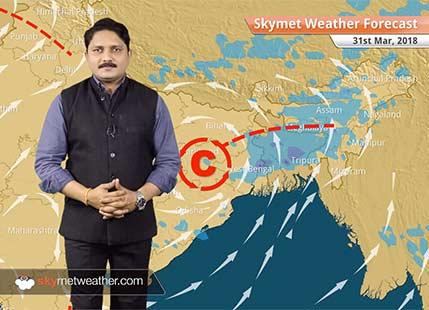 Weather Forecast for Mar 31: Heatwave in Kashmir, Himachal, Gujarat, Rajasthan, Rain in Bihar, West Bengal