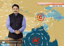 Weather Forecast for Mar 16: Rain in Kashmir, Himachal and South Peninsula, Windy day in Delhi