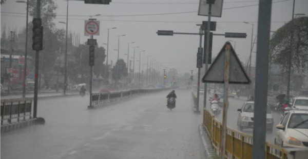 Rain in Bhopal madhya