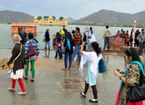 Pre-Monsoon Rains in Jaipur