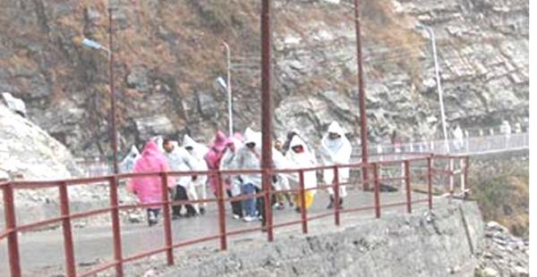 Rain in Vaishno_Devi