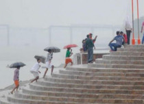 Pre-Monsoon Rain in Varanasi
