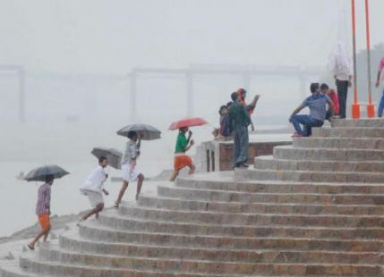 Pre-Monsoon Rain in Varanasi