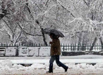Rain-snow in Kashmir and Himachal